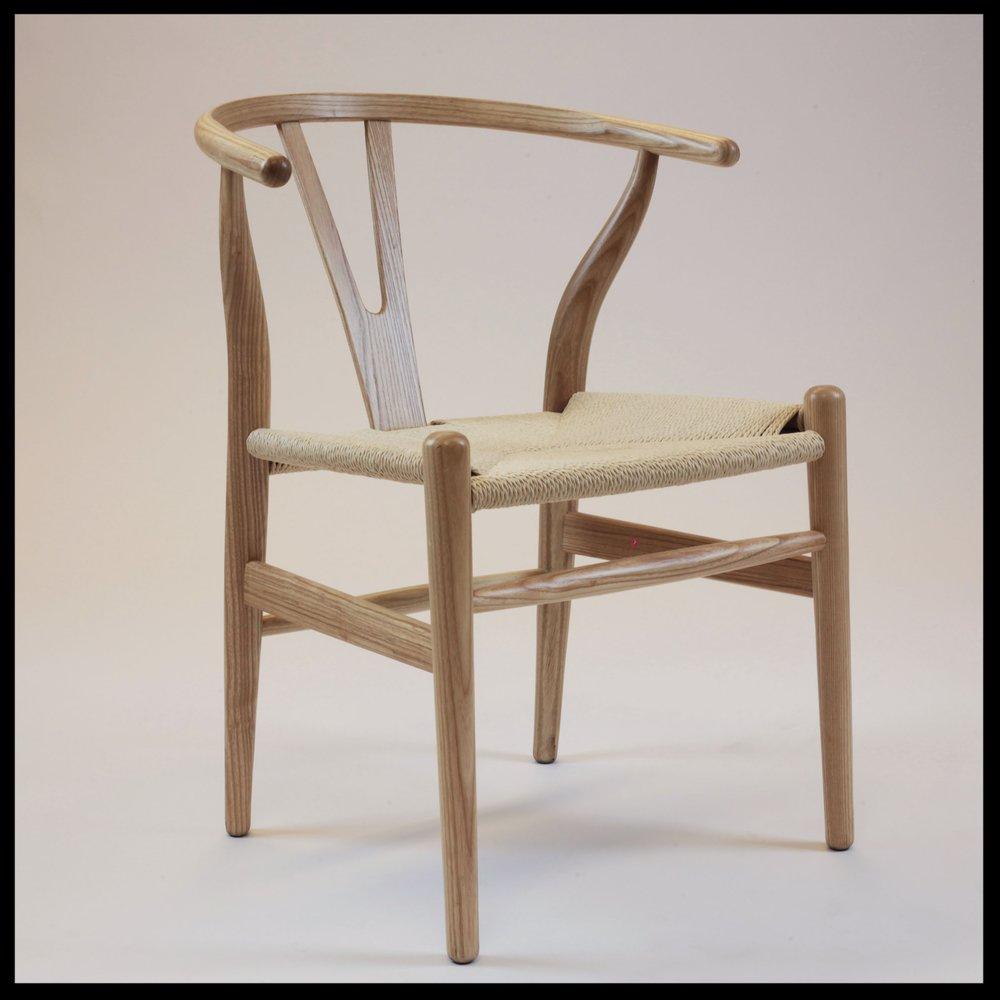Wishbone Chair Natural. Wishbone Angle