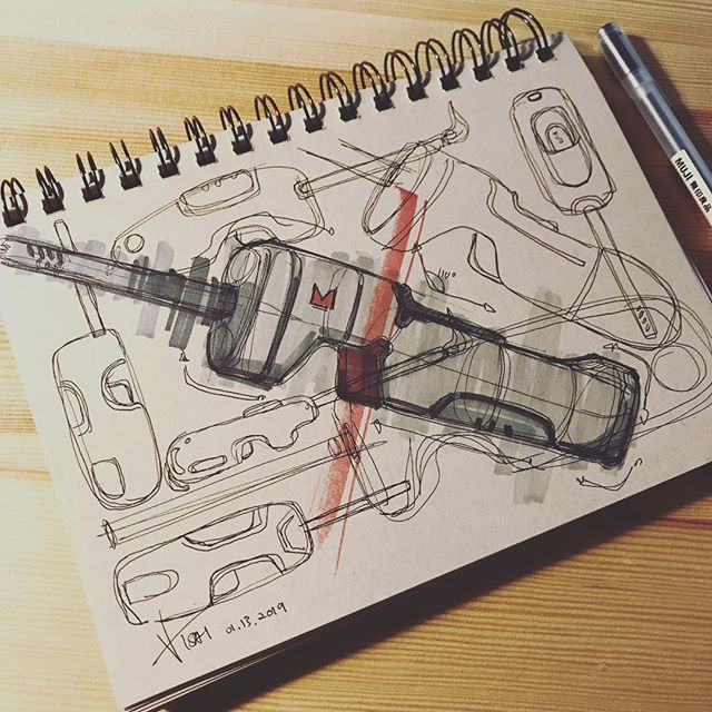 ✖️🕯🔥 Multi Purpose Lighter #sketching #idsketching #sketch #doodling #designsketch #industrialdesign #productdesign #design #id #sketchbook #ideation