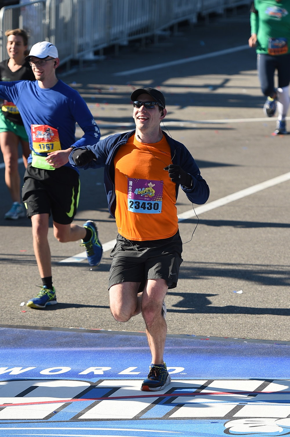 Dr. Scott wasn't able to run > 40miles in one weekend without training his body over a period of time.