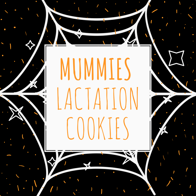 Mummies Halloween Lactation Cookies are delicious for everyone!