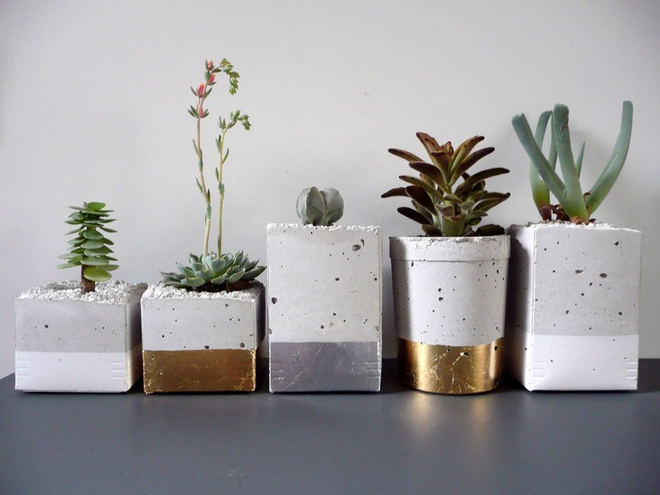 Dipped planters