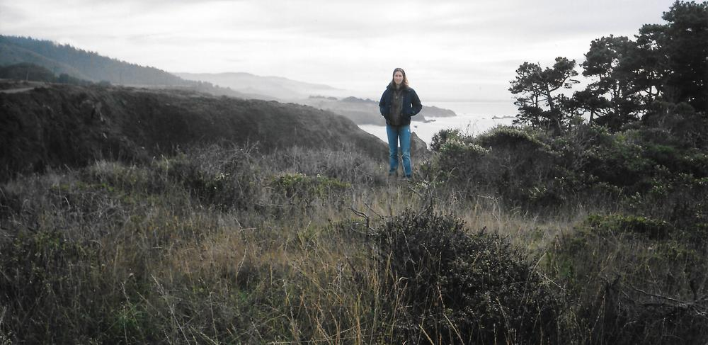 Mapping on the Mendocino County Coastal Bluffs.