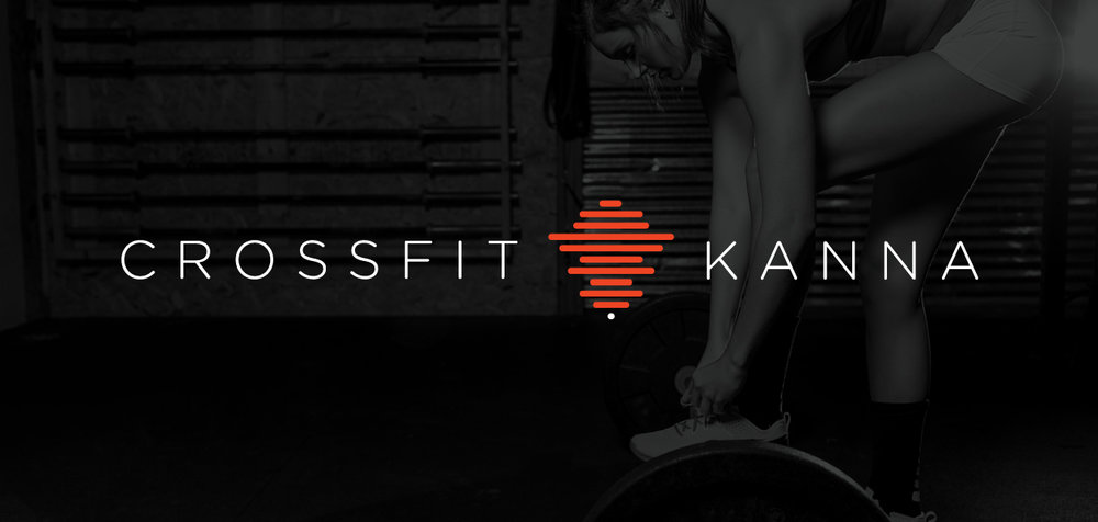 """I was presented with the opportunity to create a new brand for an emerging crossfit gym called Crossfit Kanna in Ambler, Pennsylvania. Kanna in Icelandic means """"to explore"""" and keeping that in mind I wanted to convey the journey that a new member goes through. To show this visually I used simplified rock balancing, which when seen on a hiking trail means people have been there before and you are on the right path, a sediment that translates very well to crossfit greenhorns. I also wanted to use this logo to represent the 10 pillars of crossfit; Cardio, Stamina, Strength, Flexibility, Power, Speed, Coordination, Agility, Balance, and Accuracy. You can see these are shown by the 10 horizontal bars that make up the logo."""