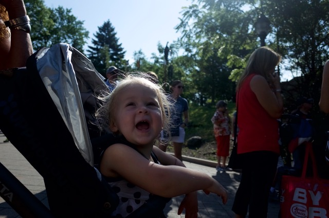 All smiles at the Brookfield Zoo