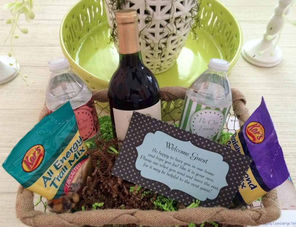 Guest Amenity Basket