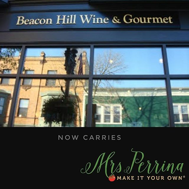 🍷🍷🍝🍝find us at @beaconhillwine in the gourmet food section. Love the vibe of this store! #melrose #specialtyfoods