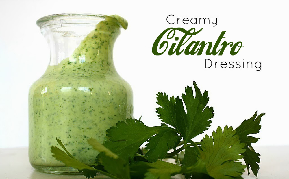 Try our Secret recipe, homemade Delish Cilantro Dressing!