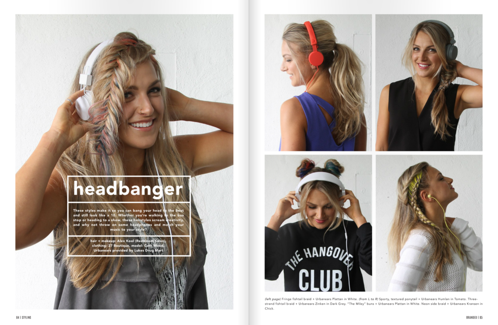 Headbanger feature in Branded Magazine