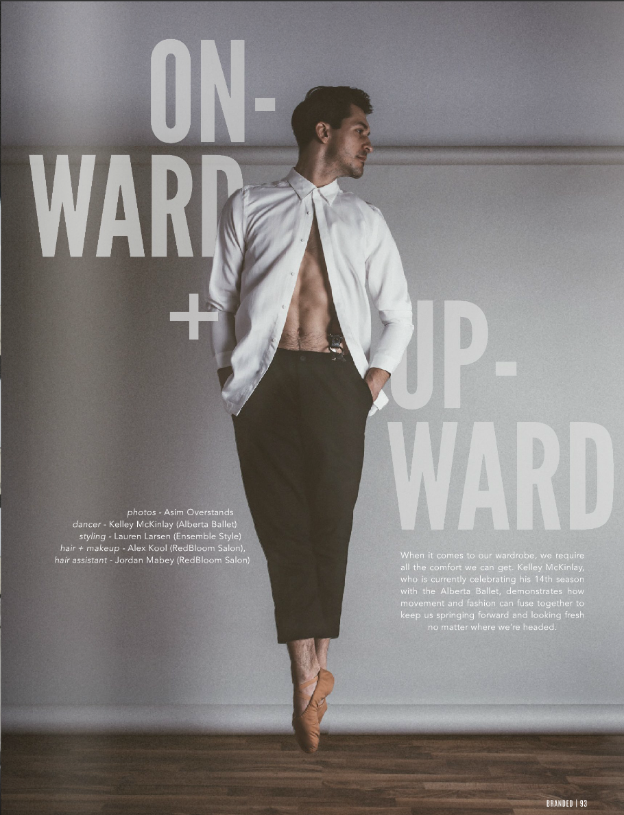 Onward + Upward feature in Branded Magazine