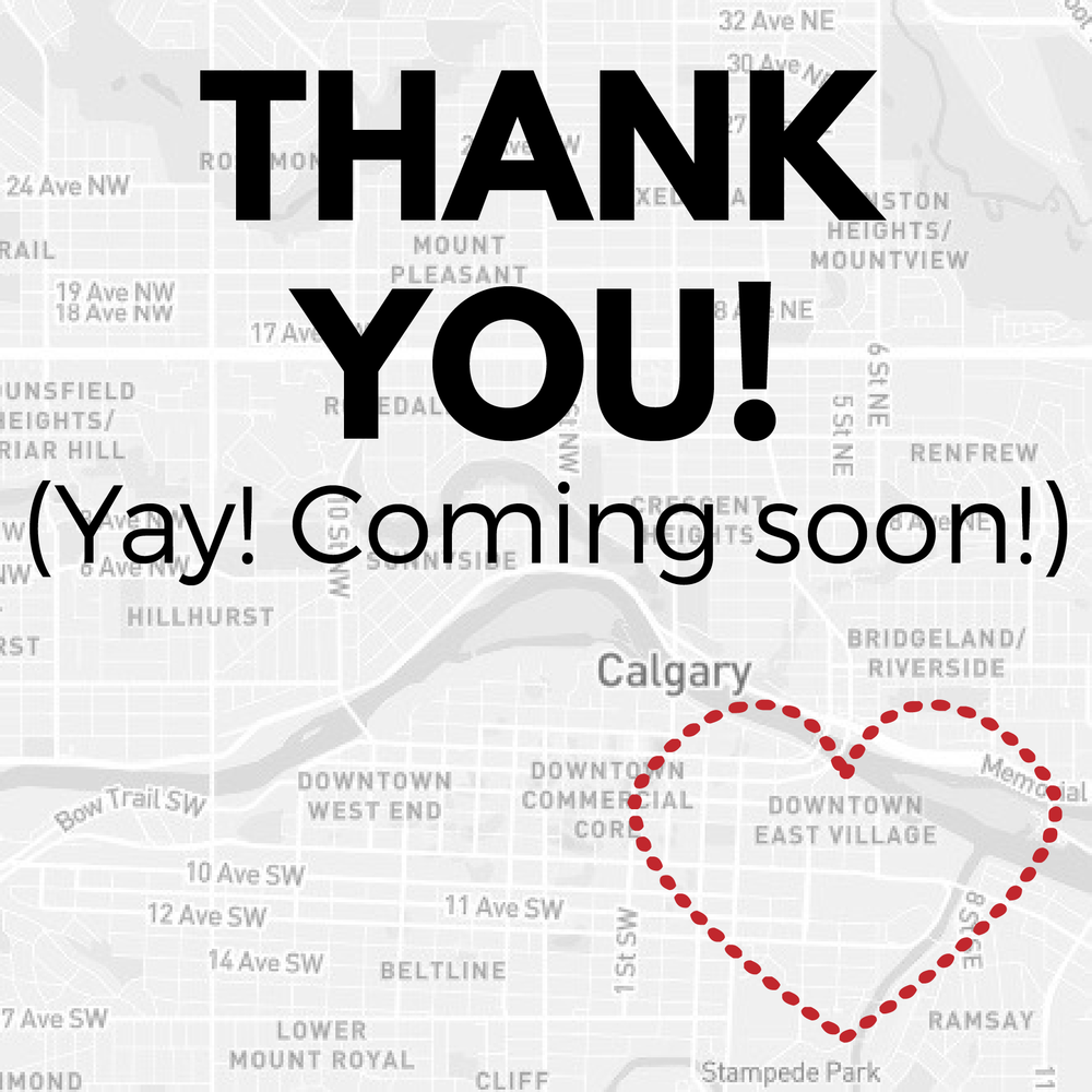 East Village Calgary RedBloom Salon coming soon!