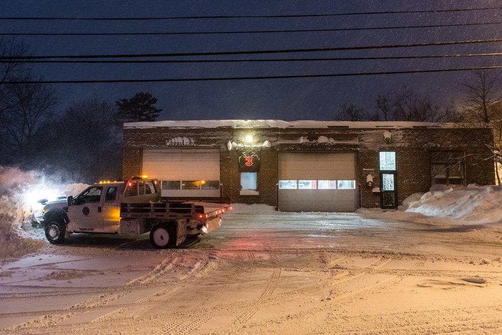 6:06am –Stevens Ave fire station.
