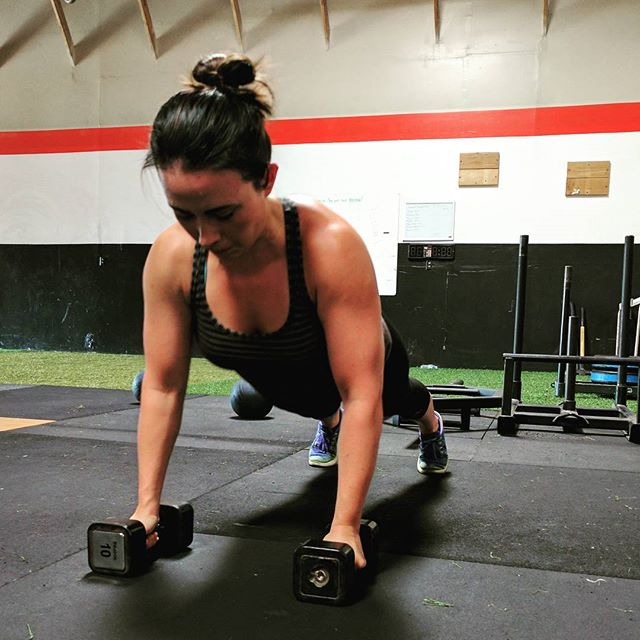 We all have the same amount of hours in our lives. How they are spent and rationed is the question. Get better every day. #fitness #strength #ethosstrong #ethos #sacramento #sactown #dumbbells #pushups #fitmom