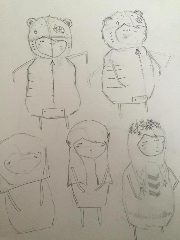 Concept Art For The Main Character