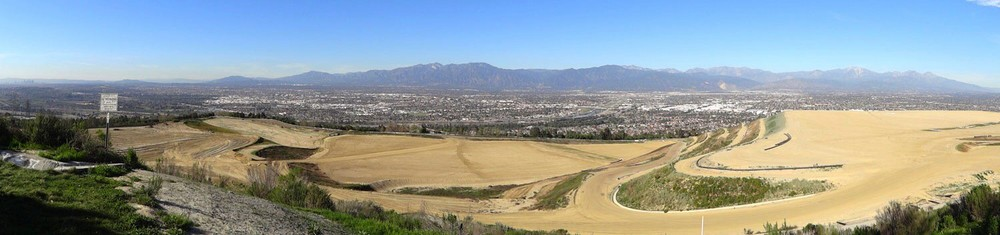 Panorama view overlooking the Western and Southern Decks of the proposed Puente Hills Landfill Park