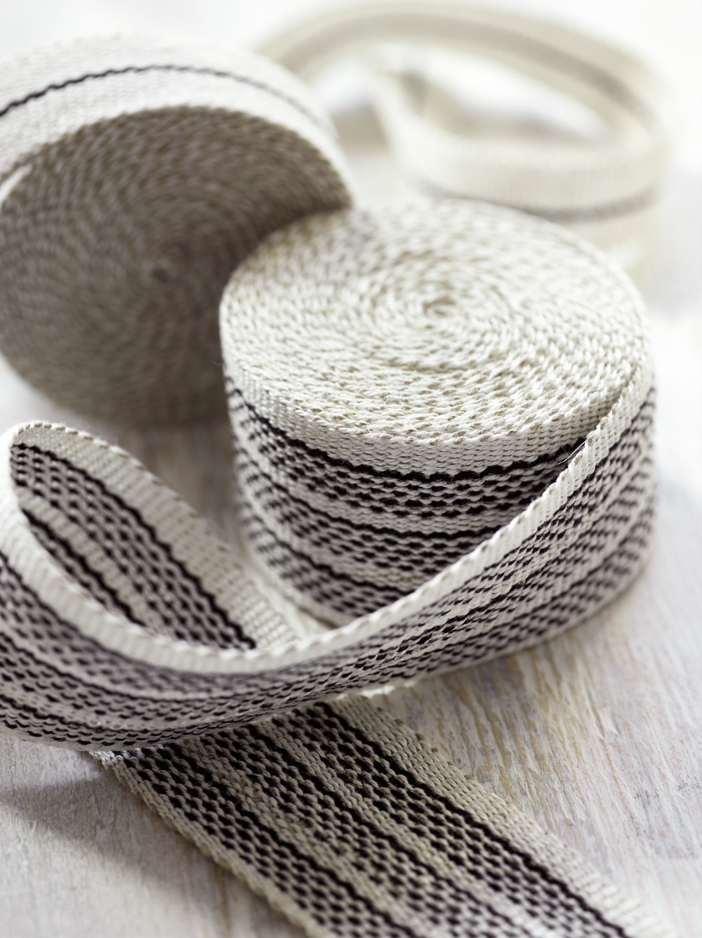 Agnes Handwoven Linen Tape
