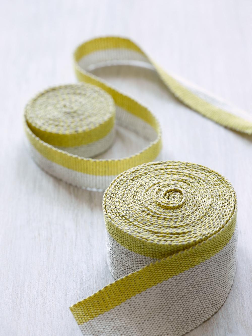 Fresh Yellow Medium and Narrow Tape Trims