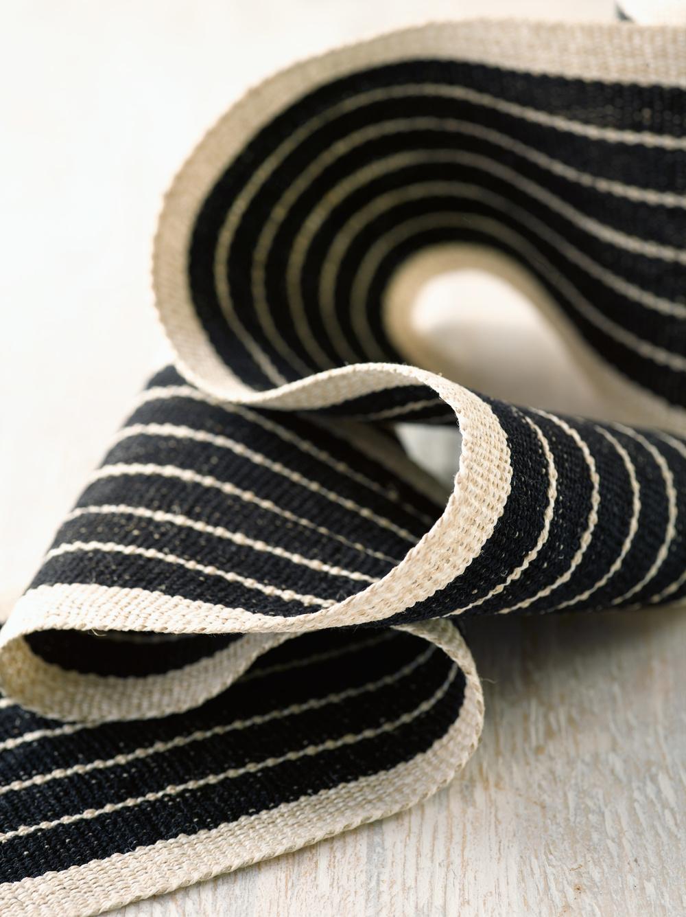 Old Tuxedo Wide Linen Tape Trim