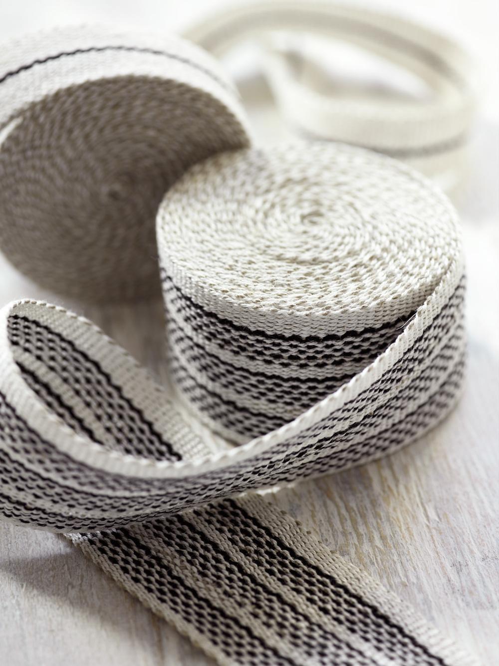 Agnes Medium and Narrow Linen Tape Trims