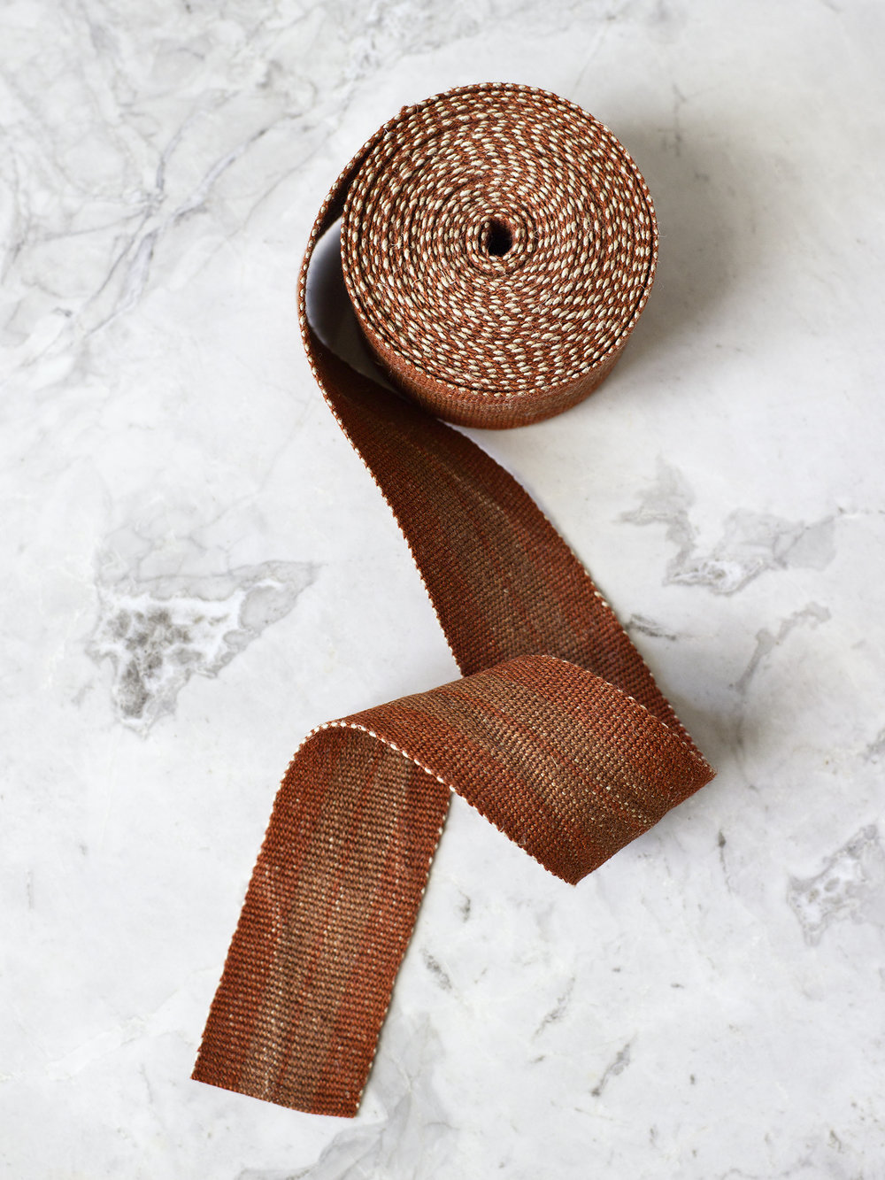 Barred Copper medium linen tape