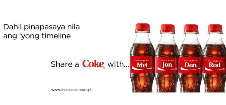 Share A Coke Initiative