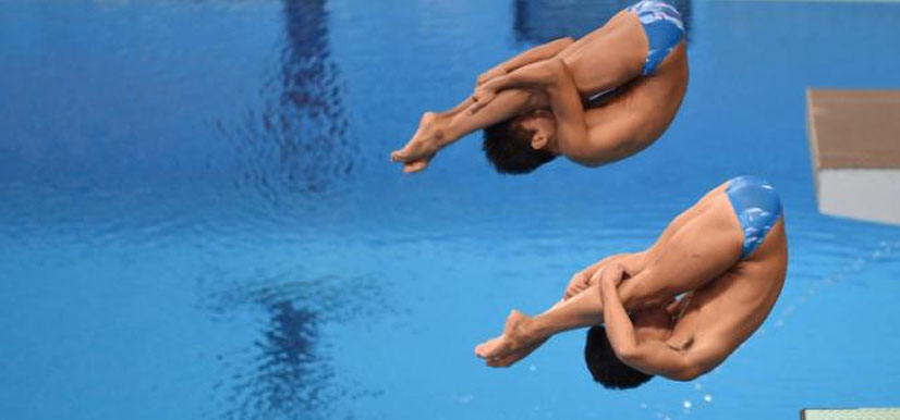 Filipino Divers, John Fabriga and John Pahoyo