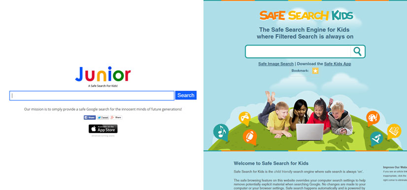 Google Junior & Safe Search Kids