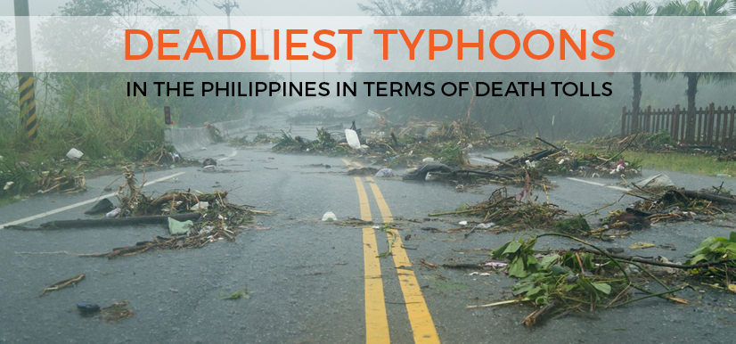 Deadliest Typhoons in the Philippines In Terms of Death Tolls