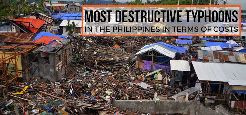 Most Destructive Typhoons in the Philippines In Terms of Costs