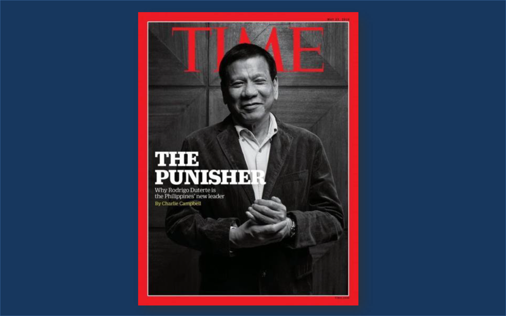 Rodrigo Duterte | The Punisher | Time Magazine