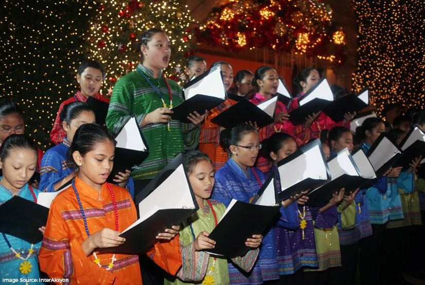 Caroling at Night