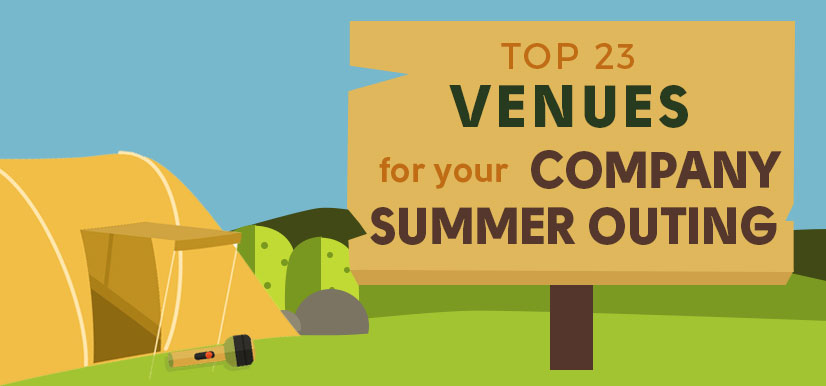 Top 23 Venues for your Company Summer Outing