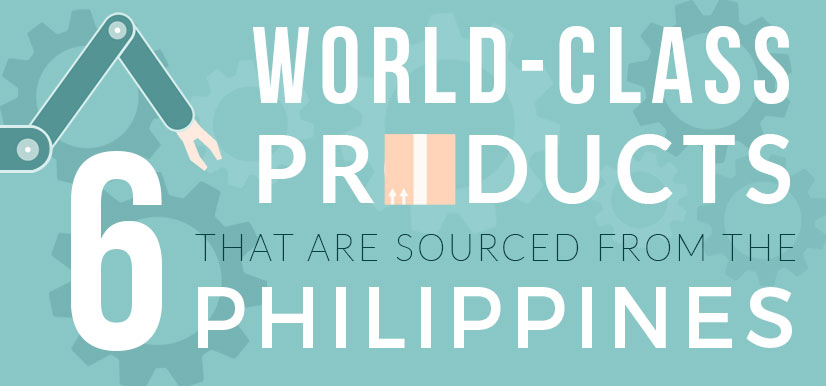 World Class Products Outsourced from the Philippines