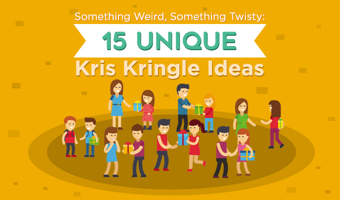 Something Weird, Something Twisty: 15 Unique Kris Kringle Ideas