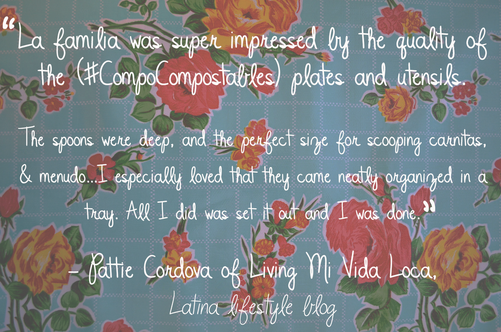 Living Mi Vida Loca_Review_Ecofriendly Tableware_Compo Compostable Plates