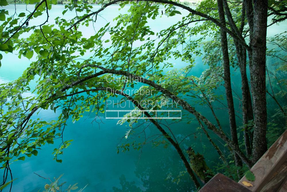 Mirror Lake in Jiuzhaigou Valley