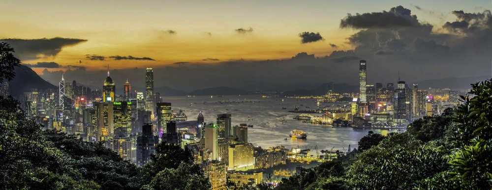 Hong Kong from the East