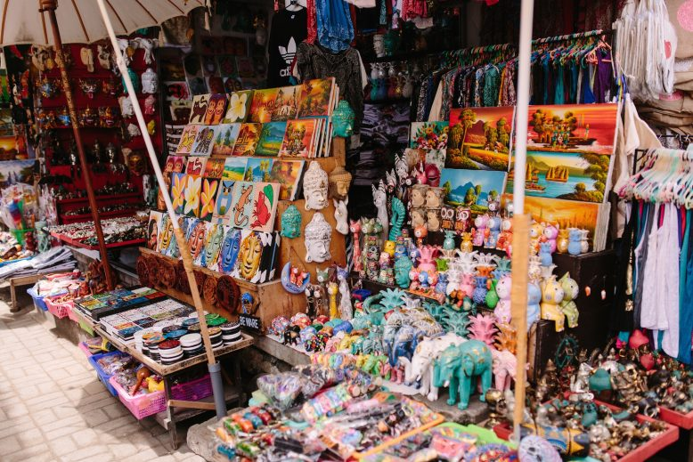 Shop till you drop... - Take a walk through the famous Ubud Market and down Hanuman Street and find handcrafted jewellery, bags, shoes, statues, beautifully flowy dresses and jumpers, yoga gear, hats, and so much more. You can spend $5 on an adorable pair of pants, or thousands on designer bags & clothes. There is something for all budgets and tastes.
