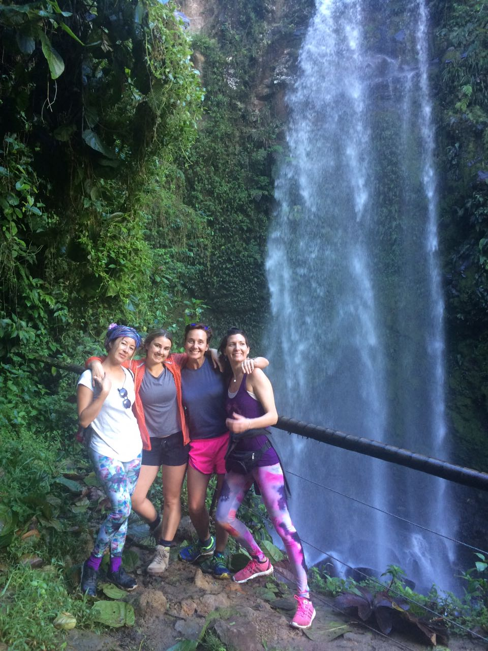 Waterfall Hike - United we will wonder into nature and connect with Mother Earth. To enjoy her beauty and be filled with her light.