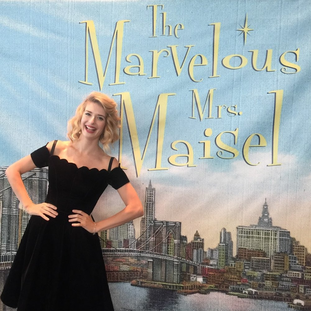 The Marvelous Mrs. Maisel    I am so thrilled to be making my streaming debut on Amy Sherman Palladino's  The Marvelous Mrs. Maisel . I can't say too much right now, but look forward to sharing more once the show airs - Stream it on Amazon on March 17th!