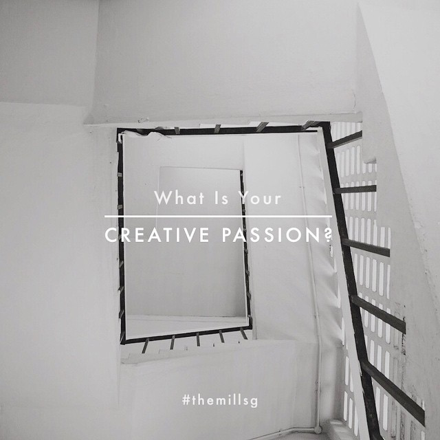 In light of Singapore Design Week, do share with us what your magic craft is!  We're always in support of local emerging and established creatives, and in hopes of encouraging collaborative innovations & designs, we'd love to get to know you (as do the community) better. Leave a comment down below! (: #design #creative #passion #craft #singaporedesign #themillsg #sgig