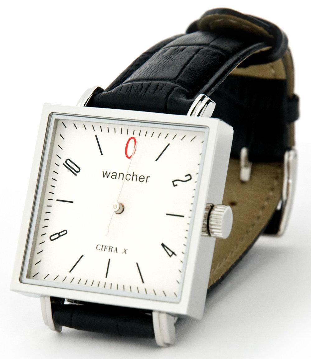 ワンハンド - それは、精密計器を思わせる、研ぎ澄まされた針を一本だけ持ち、文字盤上を12時間かけて一周しながら時刻表示する。ドイツ時計が得意とする時間表現としても、知られています。一本針で時間と分を示すワンハンドウォッチです。