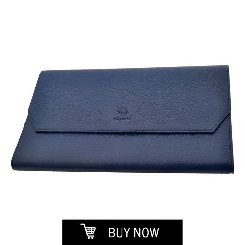 ポートフォリオ/ペンケース <BR>ブルー<BR>$85.00