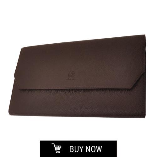 ポートフォリオ/ペンケース <BR>ブラウン<BR>$85.00