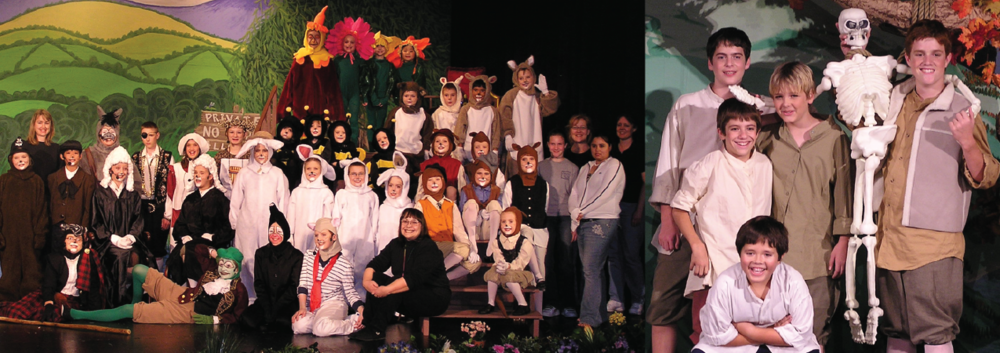 The Wind in the Willows (Spring 2006) & The Legend of Sleepy Hollow (Fall 2005) | First United Methodist Church, Lewisville
