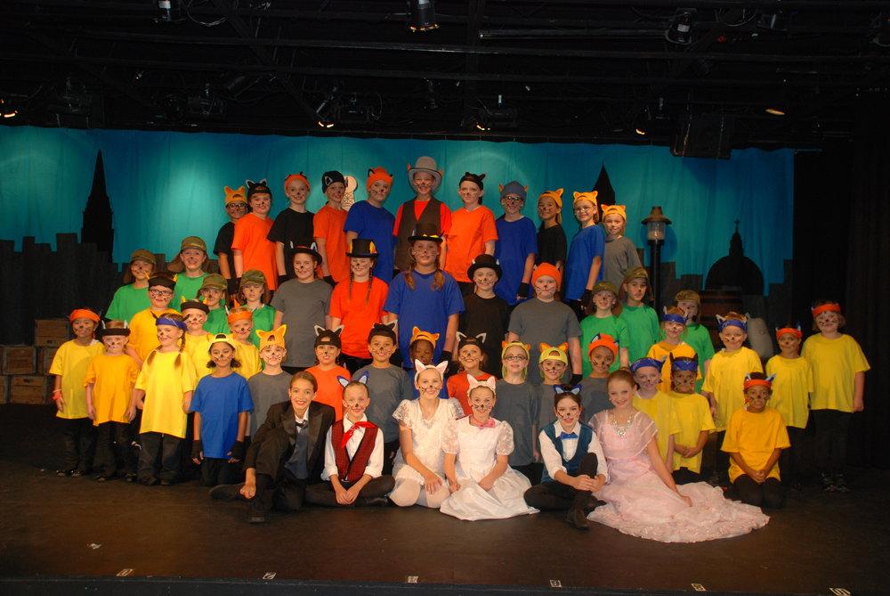 The Aristocats KIDS Summer Musical Theatre Camp 2017 - Arpeggio Cast
