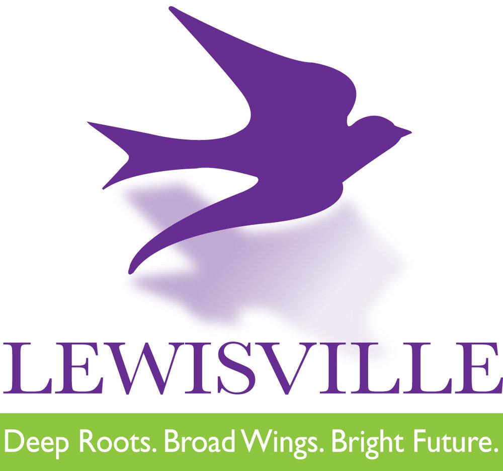 Lewisville logo vertical