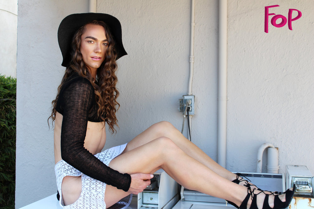 Photography: Kasey Bryant  Halter & Cutout Skirt:Emily Daccarett