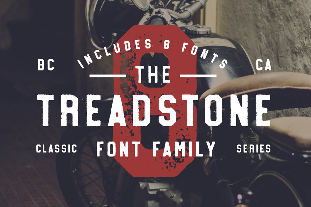 Treadstone Sans - Available on Creative MarketAvailable on Font Spring