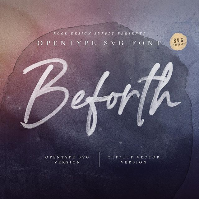 Just released this script font Beforth. Link in bio. Check out the preview images!  #scriptlettering #photoshop #mtldesign #yvrdesign #vancouverdesigners #montrealdesign #fontmakers #colorfont #realistictype #typographie #typographic #weddingtext #weddingfont #elegant
