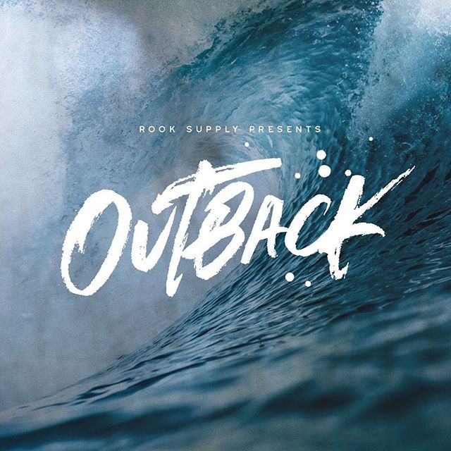 My latest font Outback .. #creativecloud #handlettering #paintedlettering #brushpenlettering #photoshop_art #photoshop_cc #creativemarket #creativemobs #drawingletters #love #surftext #surfmovie #laidback #ocean #oceanvibe #artdirector #artdirectors #fontspring #myfonts